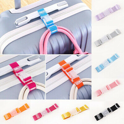 Anti-lost Clip Hang Belt Luggage Travel Bag Suitcase Strap Hanger Buckle