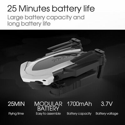 Drone x pro 5G Selfie WIFI FPV With 4K HD Dual Camera Foldable RC Quadcopter US