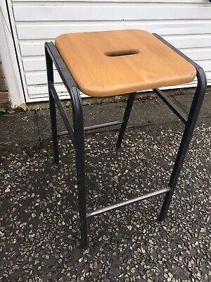 Vintage SCIENCE Lab school stools ideal for Breakfast bars, Cafes or Restaurants
