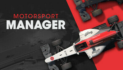Motorsport Manager (F1 season 2019 mod available to download) | Steam | (PC)