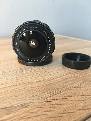 Asahi Pentax SMC Fish Eye Takumar 17mm F/4 M42 mount Lens