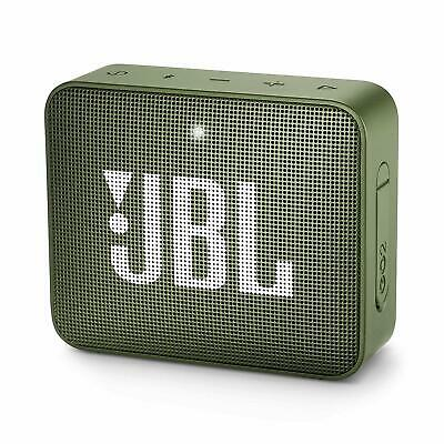 JBL GO2 Portable Bluetooth Waterproof Speaker with Rechargeable Battery + cable