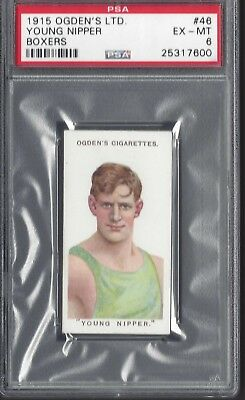 Ogdens - Boxers - #46 Young Nipper - Psa 6