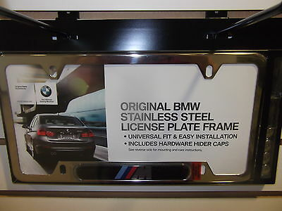 New Polished Stainless Steel License Plate Frame OEM For 07-12 Kia Rondo