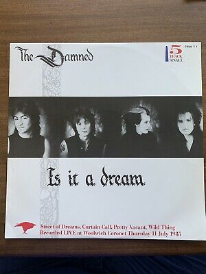 "The Damned Is It A Dream 12"" Single."