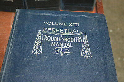 Rider's Perpetual Troubleshooters Manual Volumes VI to XIV Radio Schematics