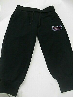 Puma Go Sport Girls 3/4 cropped tracksuit pants - Black - Age 15-16 yrs - BNWT
