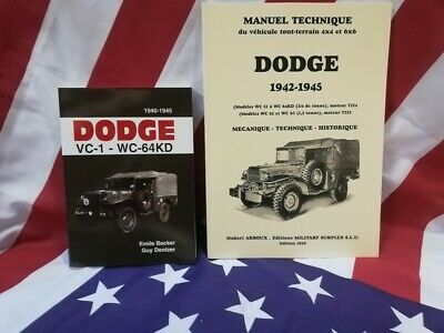 PROMO Le best du DODGE WC :  Manuel technique 2018 + BECKER USA WW2 militaria