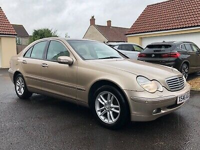 Mercedes Benz C240 Elegance Auto 2001 'X' - Only 29,886 Miles - 2 Owners