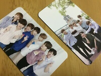 BTS WINGS TOUR Group photocard Set ARMY Fanclub FC Japan Limited Official Rare