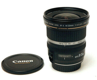 Canon Zoom Lens EF-S 10-22mm 1:3.5-4.5 USM Used Excellent Condition