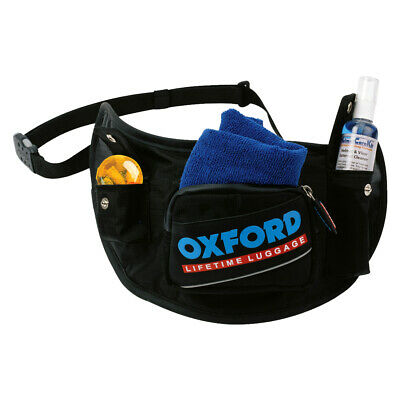Oxford Products OL395 Holster Helmet Accessory Belt Visor Black Waist Bag