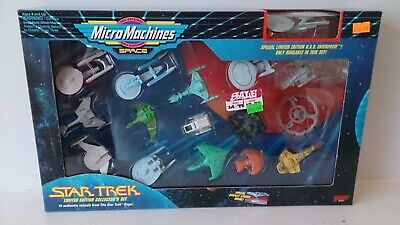 Star Trek Galoob Micro Machines Limited Edition Collector's Set 1993 BNIB