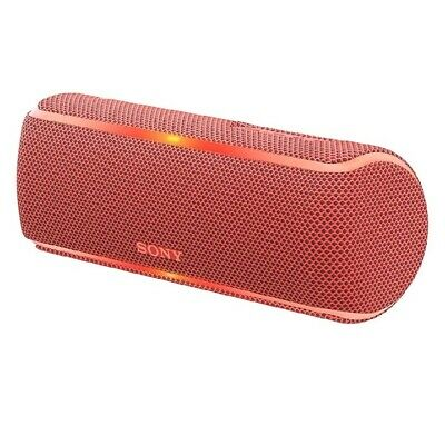 Sony Srs-Xb21 Portable Wireless Waterproof Speaker With Extra Bass Red
