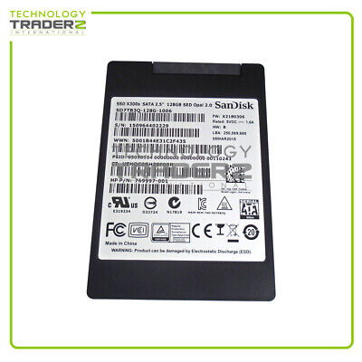 """SD7TB3Q-128G-1006 SanDisk X300s 128GB MLC SATA 6G 2.5"""" Solid State Drive *Pulled"""