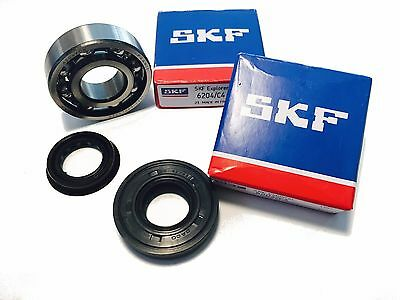 SKF C4 Crankshaft Set Kugellager 20mm + Oil Seal Fanatic Motor Cabellero Regol