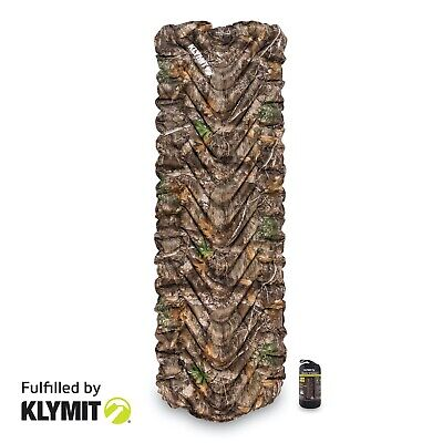 KLYMIT Static V REALTREE EDGE Sleeping Camping Pad - CERTIFIED REFURBISHED