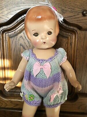 """Effanbee Patsy Ann Composition 19"""" Doll pat 1283558"""