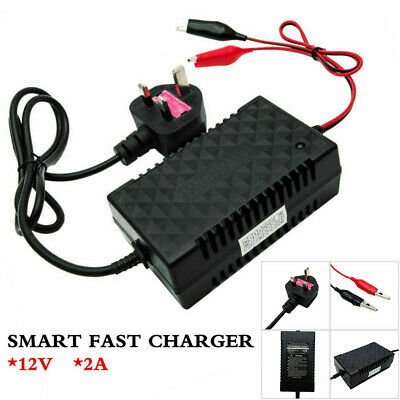 Motorcycle Motorbike Battery Charger Automatic Smart Trickle Toy Intelligent 12V