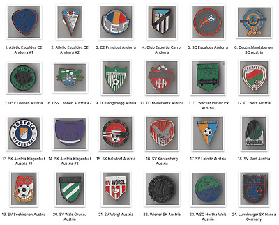 eleganckie buty Hurt Los Angeles METAL PIN FINLAND Football Clubs European Soccer HJK ROPS ...