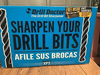 Drill Doctor XP2 Bit Sharpener 1 Amp Variable Alignment W/ Attachment- FREE SHIP