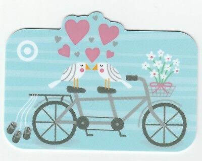 Target no value collectible gift card mint #53 Bicycle