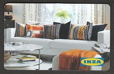 IKEA no value collectible gift card mint #02 Living Room