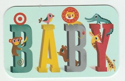 Target no value collectible gift card mint #63 Baby
