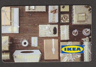 IKEA no value collectible gift card mint #03 Boxes