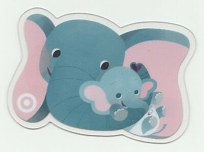 Target no value collectible gift card mint #73 Two Elephants