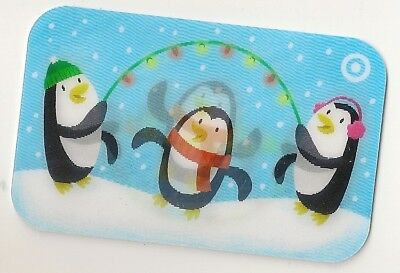 Target no value collectible gift card mint #40 Three Penguins