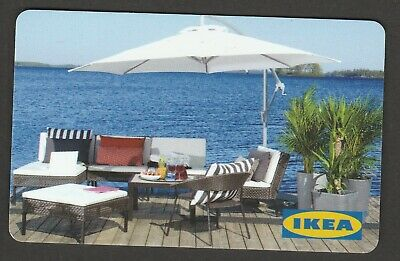 IKEA no value collectible gift card mint #05 Patio