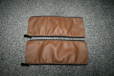 Bugaboo Cameleon 2 / 3 handlebar replacement covers set - tan leather