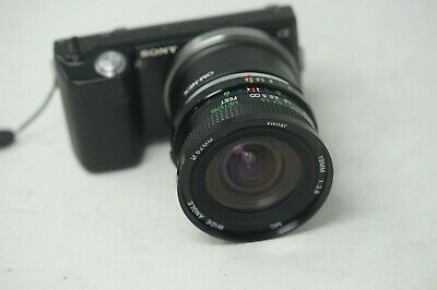 Sony E Mount Adapted 19Mm F3.8 Vivitar Wide Angle Full Frame Prime Lens All A7