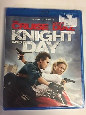 Knight and Day (Blu-ray Disc, 2012) Tom Cruise, Brand New Sealed! No Code