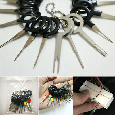 Auto Terminals Removal Key Tool Set,Car Electrical Cable Wiring Crimp Connector