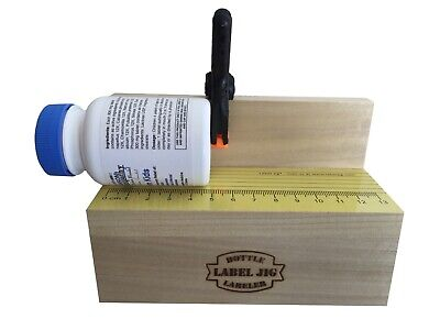LABEL JIG Mini Label Machine Applicator for Small Bottles, Jars, Cans