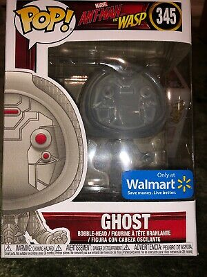 Funko POP Ant Man and the Wasp 345 Walmart Exclusive Ghost