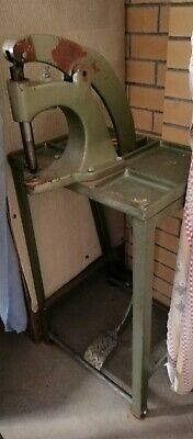 Industrial Foot Press for Grommets, Snaps, Buttons, and Rivets w/Stand