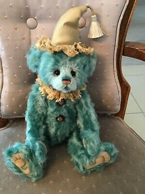 """Charlie Bear BOZO 2019 Isabelle Mohair Collection 12"""" FREE US SHIP"""