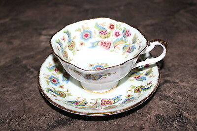 Paragon Teacup and Saucer Fine Bone China made in England Antique Series Stuart