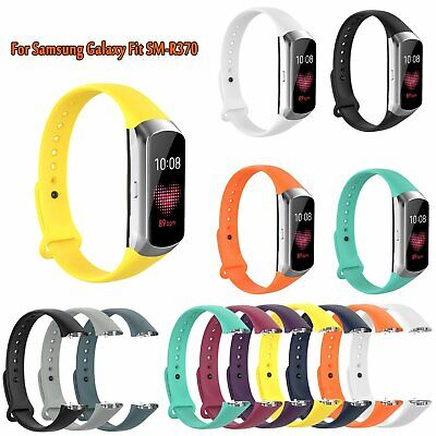 1* TPE Soft Watchband Wrist Strap Buckle Replace for Samsung Galaxy Fit SM-R370