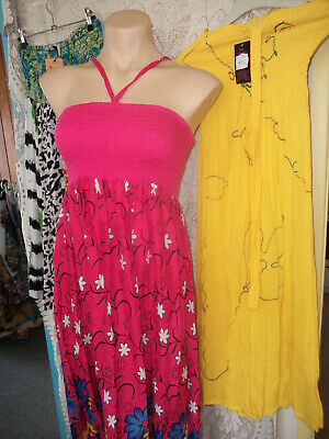 Bulk Lot 10 New Dresses    Mixed Sizes 12 To 18 All  Summer