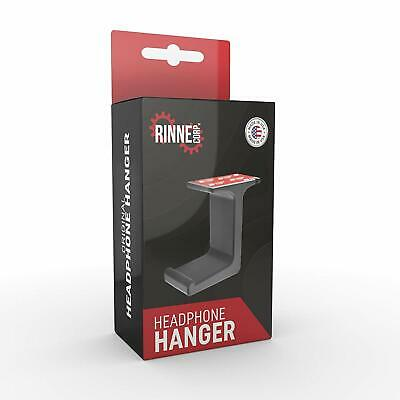 Headphone Hanger/Stand  Under The Desk Headphone Stand/Mount - 3M Tape - Sturdy
