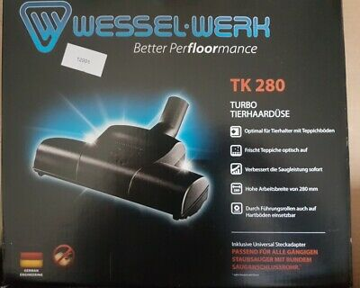 Wessel-Werk TK280 turbine power head hoover replacement head power brush