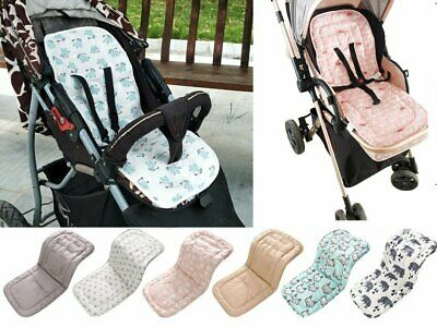 Washable Soft Baby Kid Stroller Pram Pushchair Car Seat Liner Pad Mat Cushion UN
