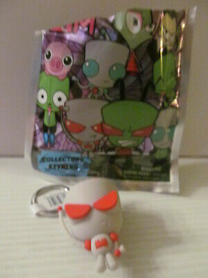 GIR with HOOD DOWN INVADER ZIM ORIGINAL MINIS SERIES 1 BOBBLE HEAD FIGURE TA915