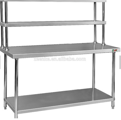Stainless Steel Kitchen Worktable With Top