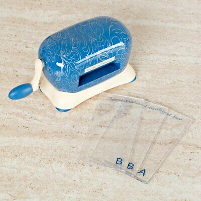 Tattered Lace Baby Blue Die Cutting Machine + Free Card