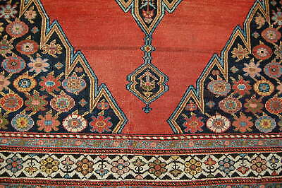Antique Persian Mazlagan rug carpet